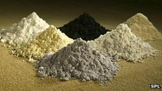 Rare earth oxide tracers (file photo)