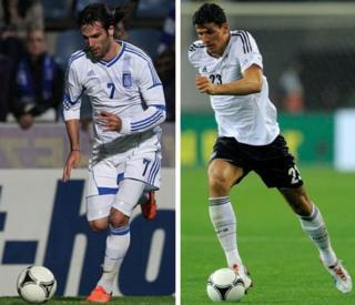 Giorgios Samaras and Mario Gomez