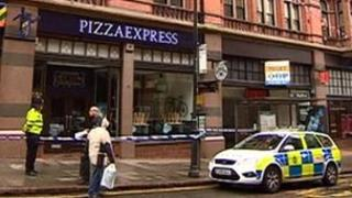 Pizza Express on King Street, Nottingham