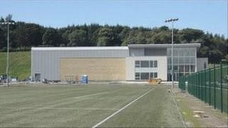 Celtic's Lennoxtown training ground