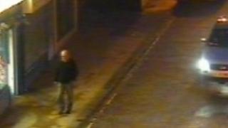CCTV of Francis Farrell