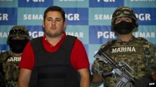 Jesus Alfredo Guzman Salazar, son of El Chapo Guzman, 21 June 2012