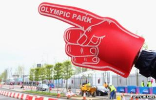 Olympic Park sign