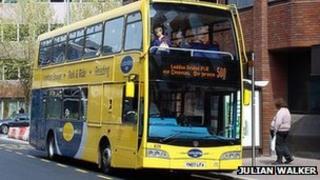 Loddon Bridge park and ride bus