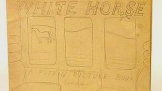 """""""White Horse,"""" by Eric Ravilious, who was killed in World War II."""