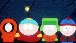 South Park cartoon characters