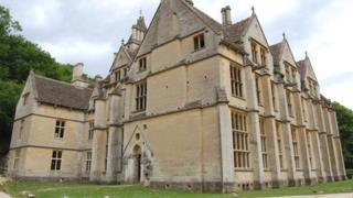 Woodchester Mansion near Stroud