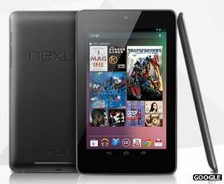 Nexus 7 tablets