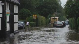 Kingsland flooding