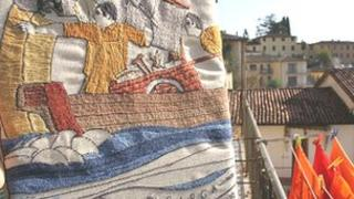 Images of Barga - tapestry