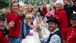 A Jubilee street party