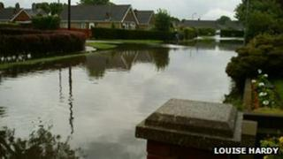 Flooding in Immingham