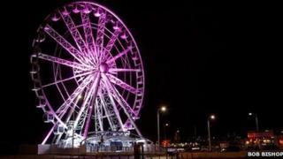 Weston-super-Mare's wheel by Bob Bishop