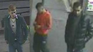 Suspects seen on CCTV