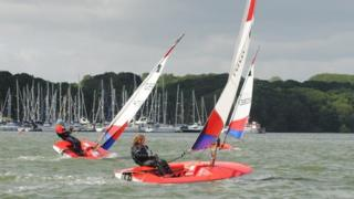 Neptune Sailing on River Orwell
