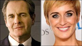 Robert Bathurst and Vicky McClure