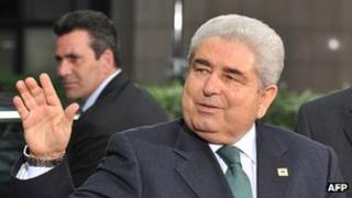 Cyprus President Demetris Christofias - file pic