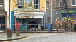 Fire in Bathgate
