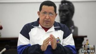 President Hugo Chavez on 29 June 2012