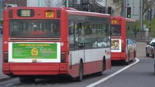 Plymouth Citybus buses
