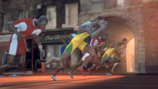 "The BBC has unveiled its ""Stadium UK"" title sequence and marketing campaign for the London 2012 Olympics. The campaign shows the landscape of the United Kingdom transformed into a giant sporting arena inside the Olympic Stadium."
