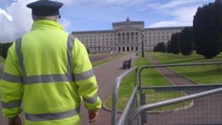 Stormont security staff