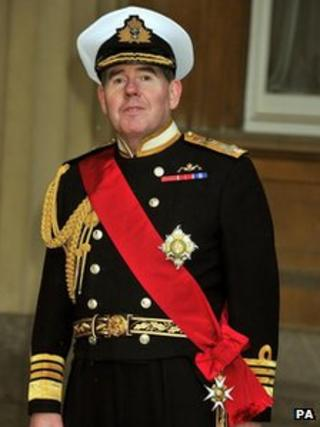 Admiral Sir Mark Stanhope