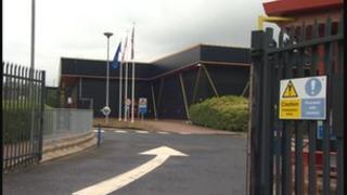 The former Twinings tea plant in North Shields