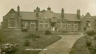 Blaina and Nantyglo Community Hospital in 1910