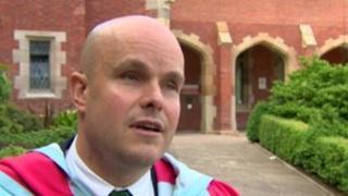 Mark Pollock has received an honour from Queen's University in Belfast