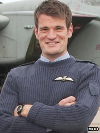 Flt Lt Hywel Poole