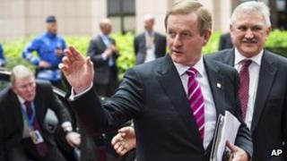 Irish Prime Minister Enda Kenny