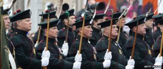 The Royal Archers march