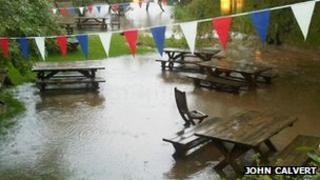 Calfs Head pub, Worston