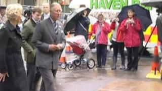 Prince Charles in Hebden Bridge