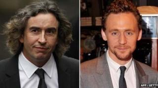 Steve Coogan and Tom Hiddleston