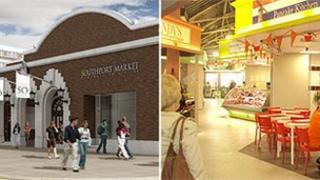 Artist impression of Southport Market