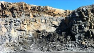 Craig yr Hesg quarry in Pontypridd