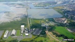 The proposed Centrica biomass plant in Barrow