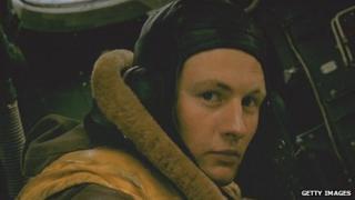 An RAF bomber navigator around 1940