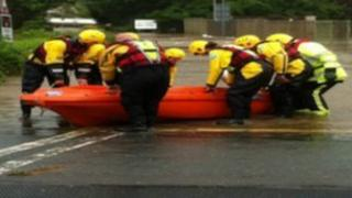 RSPCA rescue in Somerset