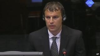 Elvedin Pasic giving evidence on 9 Jul 2012