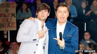 Arron Lowe and Brian Dowling