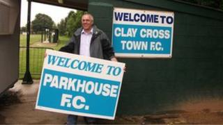 Clay Cross FC committee member Martin Roberts