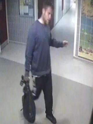 One of the men police want to trace in connection with the incident