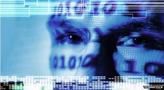 DDoS attack graphic