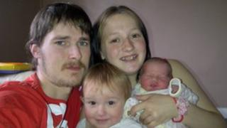 Katie Baker & Clint Jones & family
