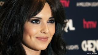 Cheryl Cole appears at a signing for her album A Million Lights