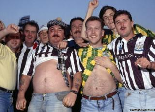 H'away the lads, Newcastle United, 1990