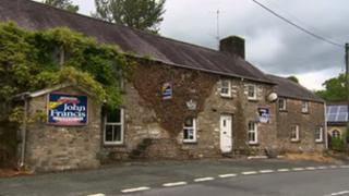 Brechfa's Forest Arms pub